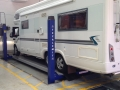 MOT Test on Motor Home