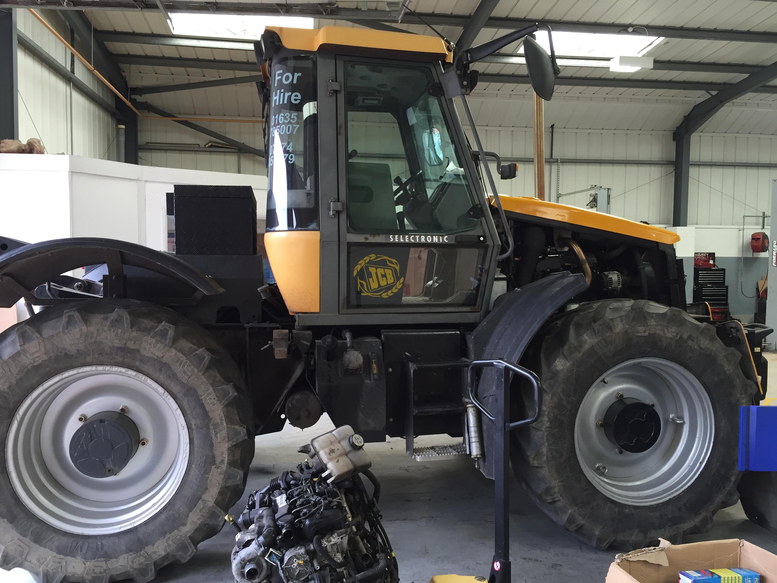 Tractor having an Air Con Re Gas at Motech, Newbury
