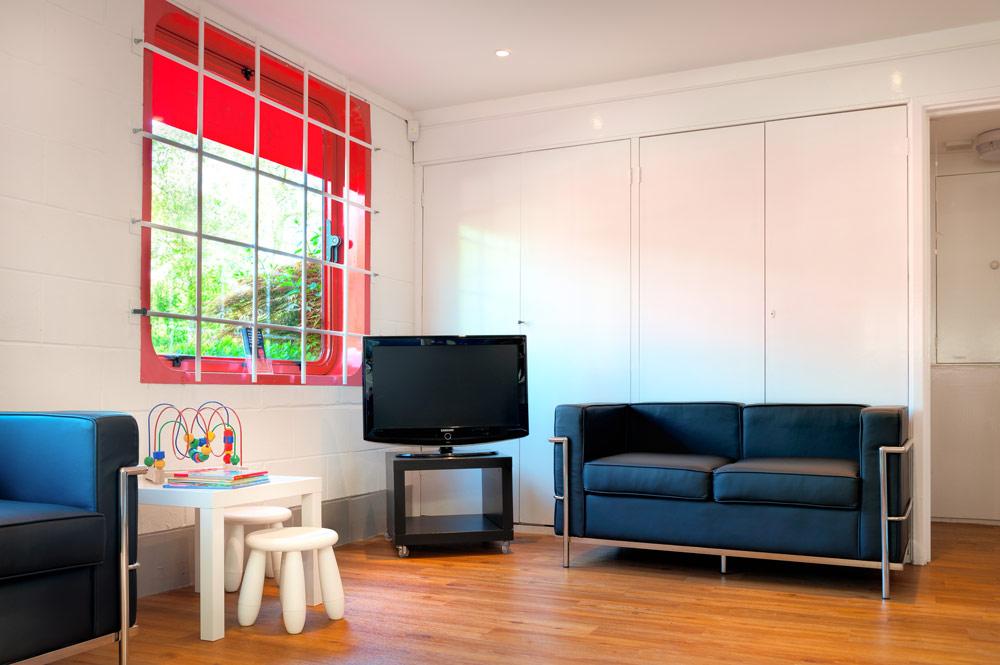 Comfortable family friendly Reception area.