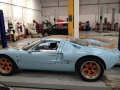 MOT on a classic Ford GT 40.