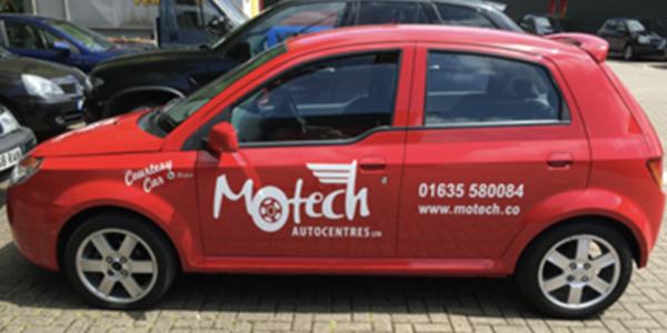 Coutesy Car Service - Motech Autocentre Newbury